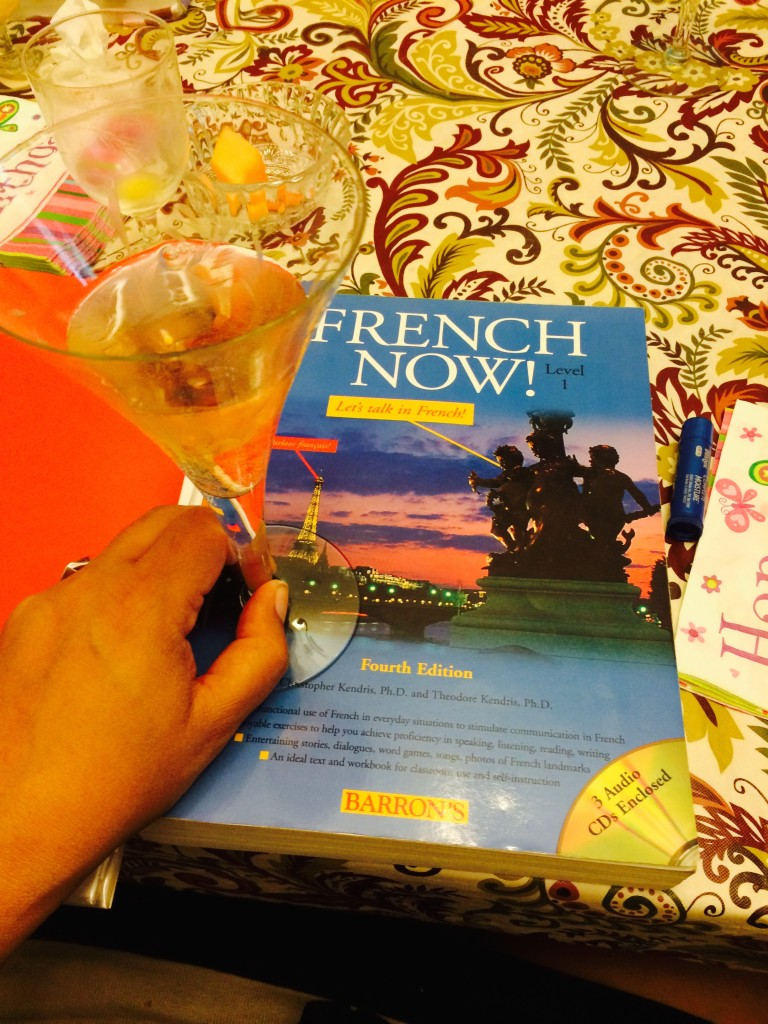 Parlez Vous Franglais - My Journey to Learning the French Language - Je Suis. PARIS Image