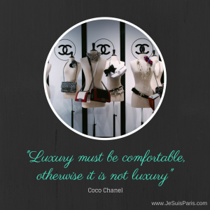 Coco Chanel Quote - Je Suis. PARIS Image